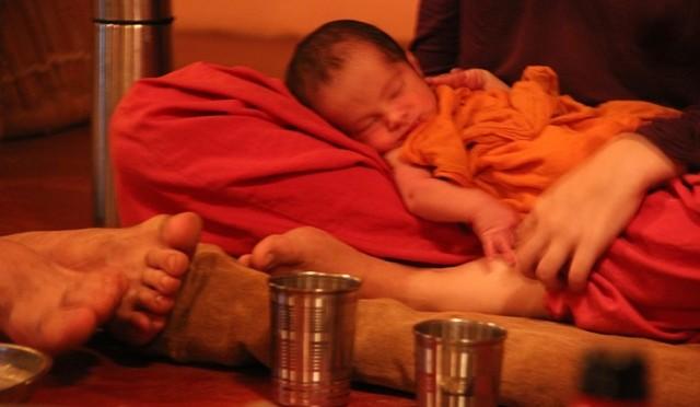 Geburtsbericht: Alleingeburt in Indien
